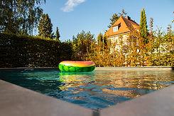 Brucker_Landschaftsbau_Poolbau_Lufttier_Pool_Freiburg_Zähringen