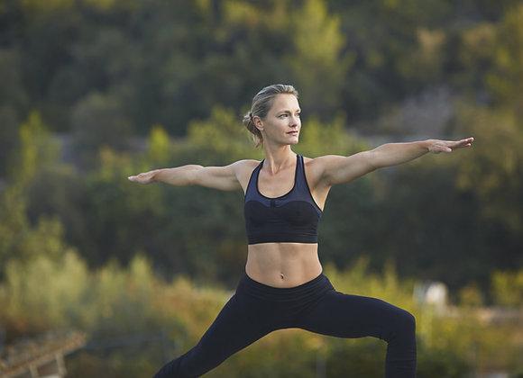Cours de yoga en nature