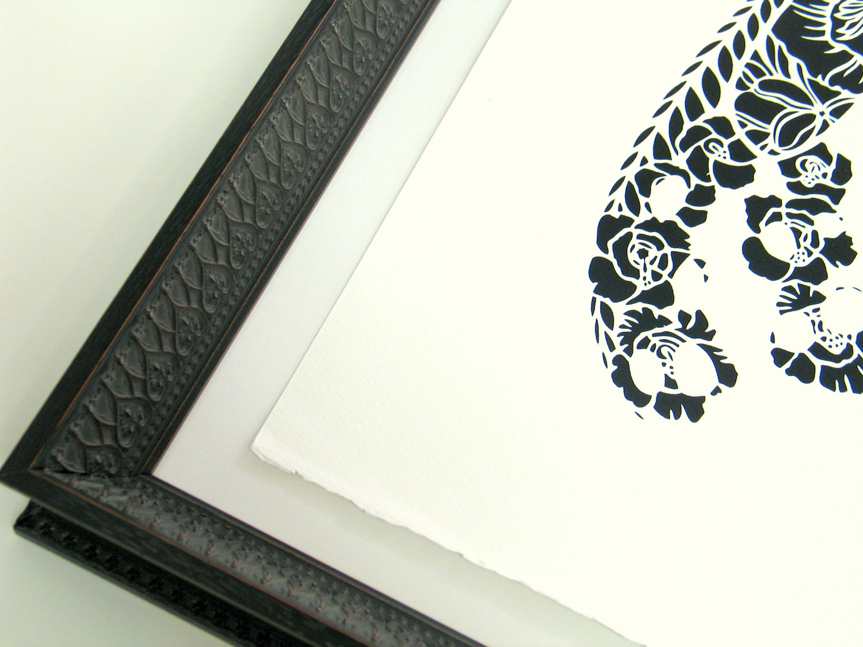 Flox Lace Butterflyframedetail