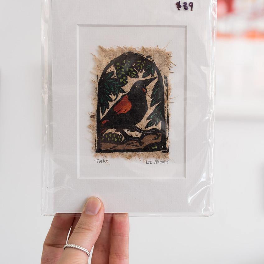 Liz Abbott Tieke Print