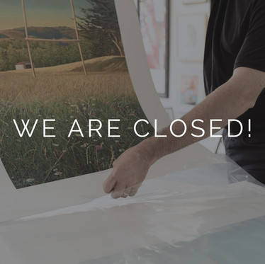 We are CLOSED - Covid 19 Update
