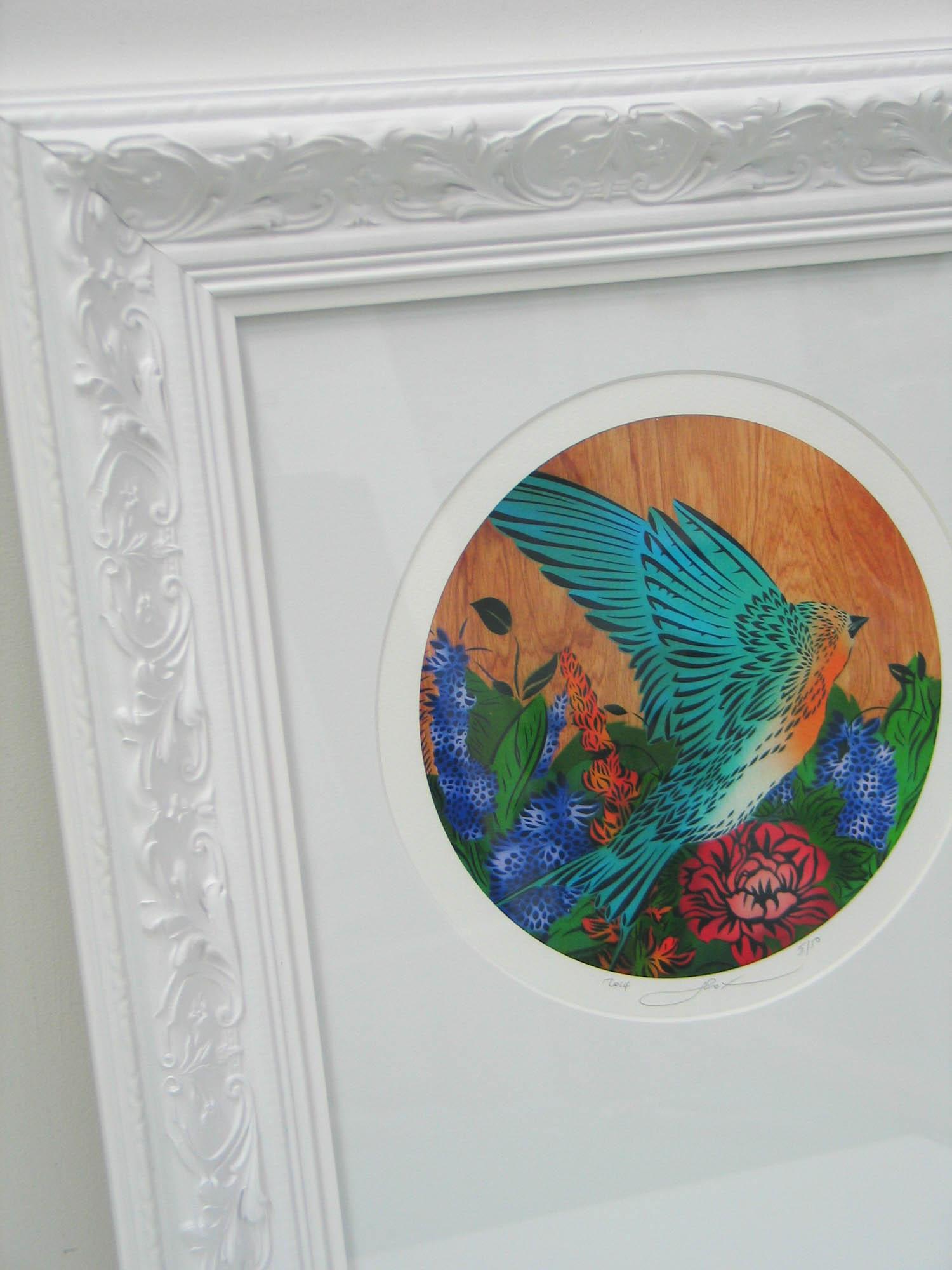 Flox Robin framed2