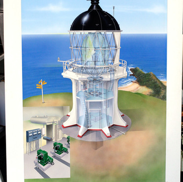For Sale: Original Airbrushed Illustrations Commissioned by New Zealand Geographic