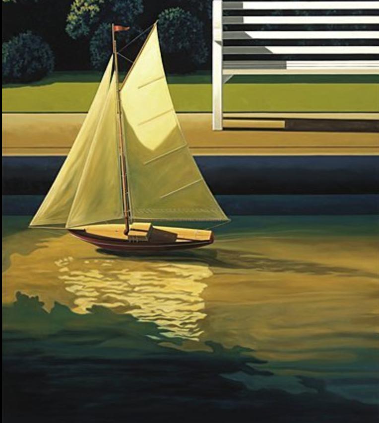 Ross Jones 'Pond Yacht'