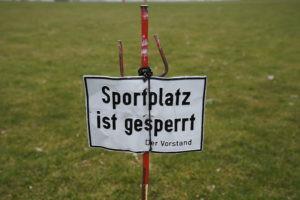 Amateurfußball in Baden-Württemberg wird ab sofort ausgesetzt