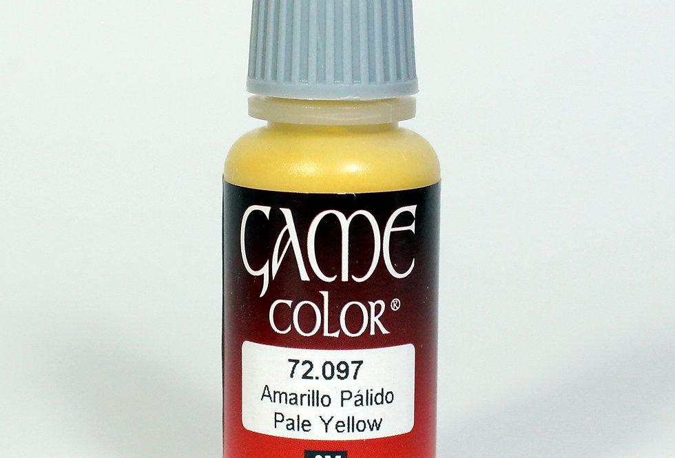 Pale Yellow - Amarillo Pálido