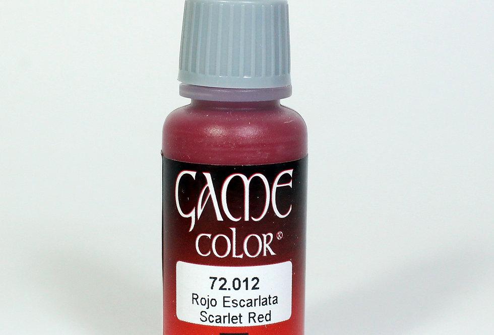 Scarlet Red - RojoEscarlata