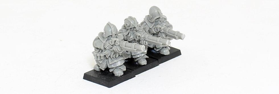 Dwarf harquebusiers