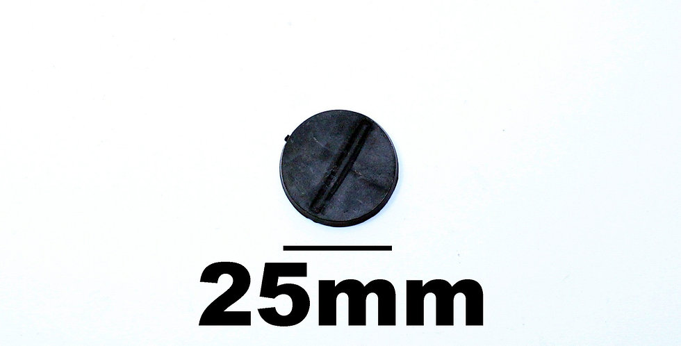 Plastic Round Base 25mm