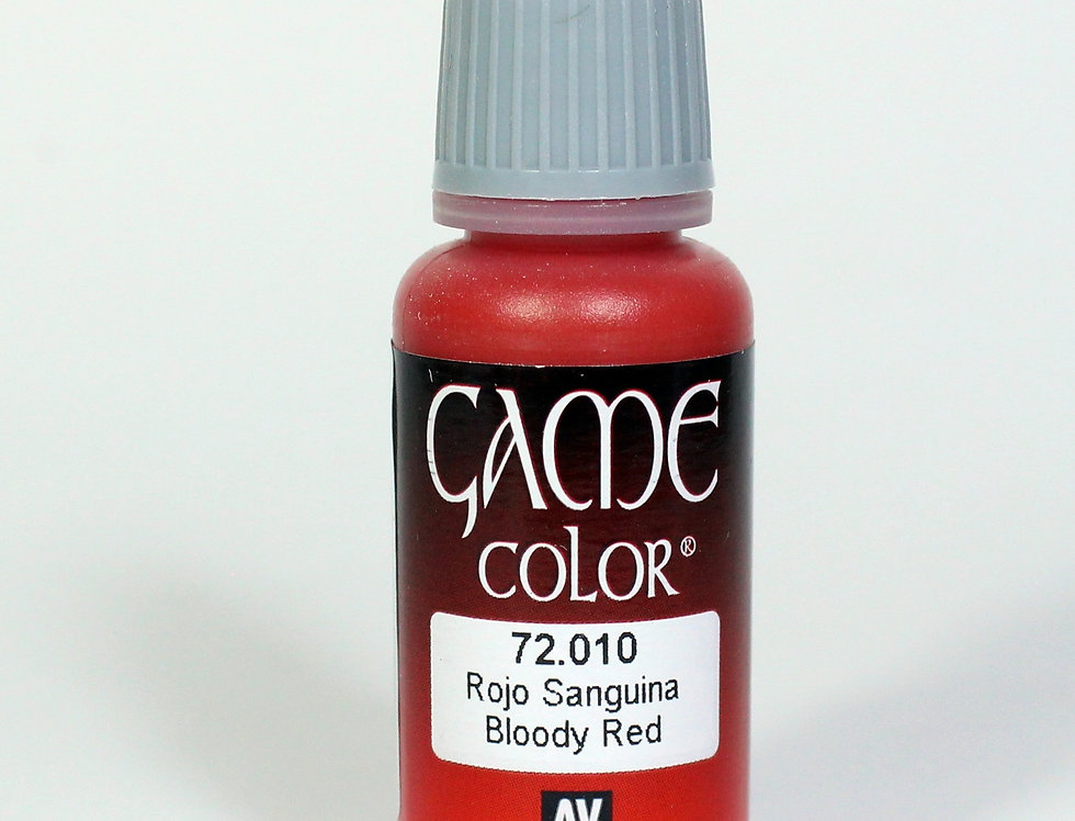 Bloody Red - Rojo Sanguina