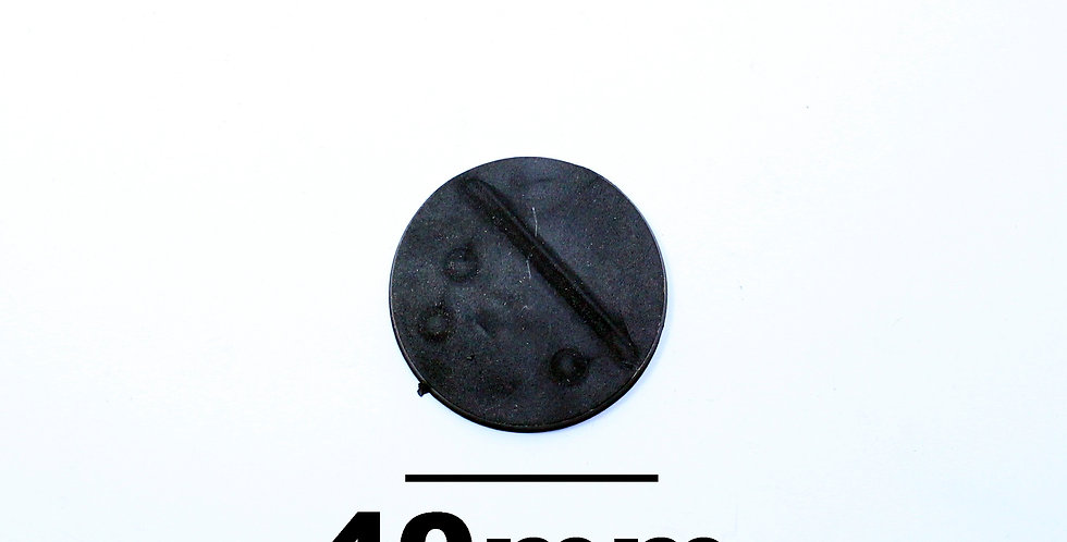Plastic Round Base 40mm