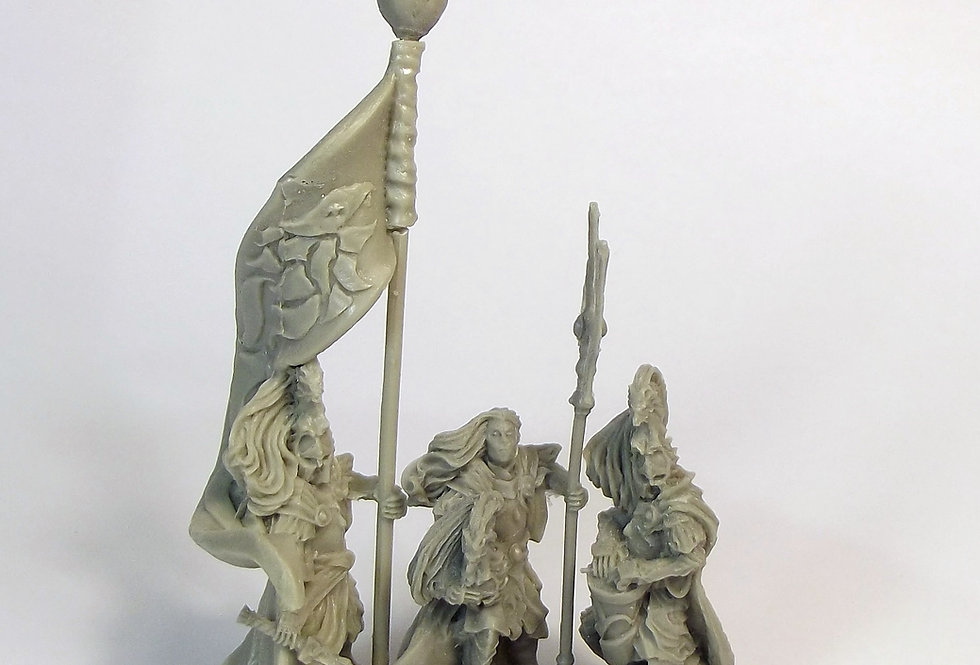 GM Elves with Halberds