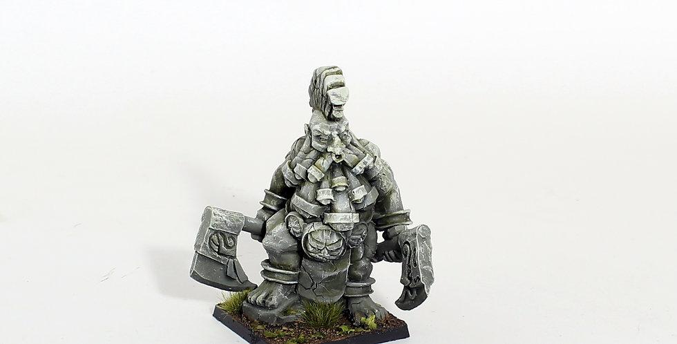Berserker dwarf statue