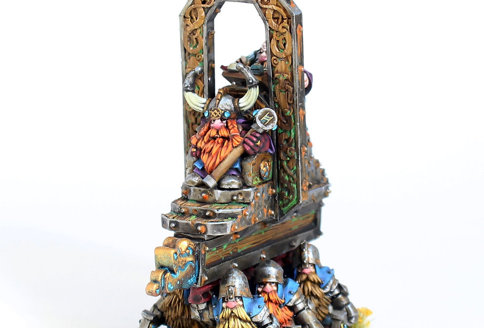 Dwarf throne