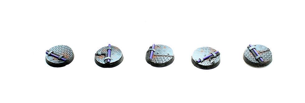 Sci-fi  model 4 bases pack