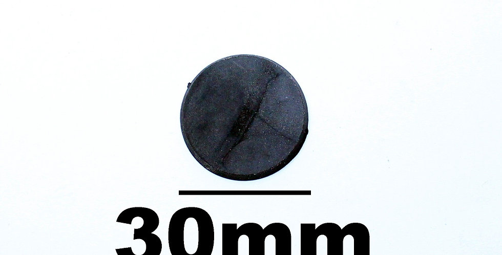 Plastic Round Base 30mm