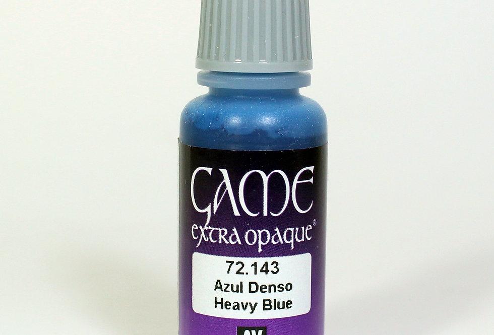 Heavy Blue - Azul Denso