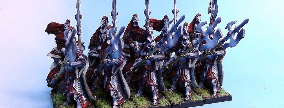 Elves with halberd