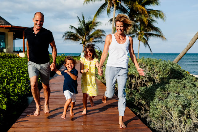 Grand Velas Riviera Maya, Family Photo