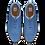 Thumbnail: FJ CHAUSSURES SPORT RETRO 92367