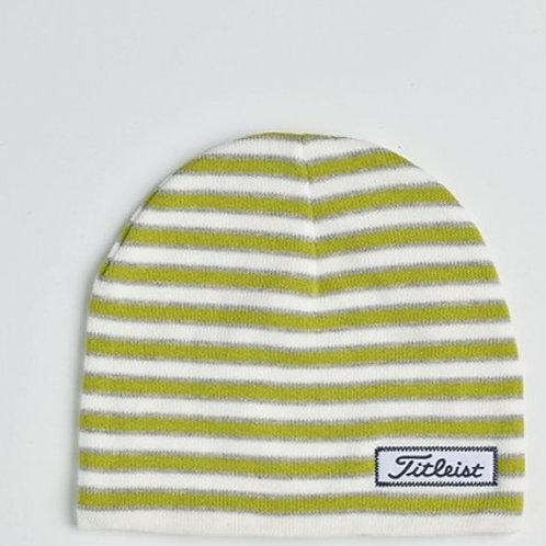 Bonnet Femme Titleist striped gris/blanc/vert