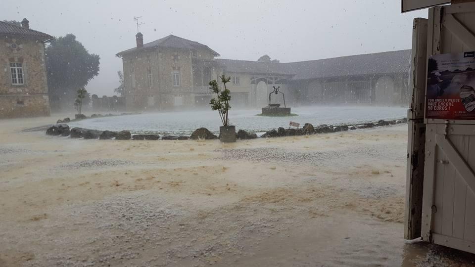 orage 28 mai 2016 golf du cognac