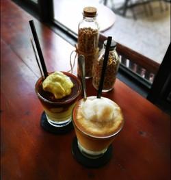 Avocado coffee & Coconut coffee