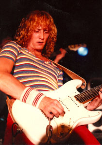 Dave with a white strat 2978