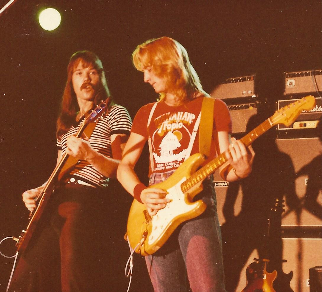 Jeff Avery & David Simmons 1982