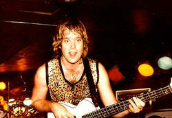 Henry Farmer on bass