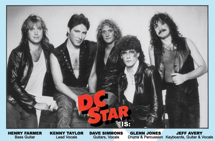 The band DC Star 1983
