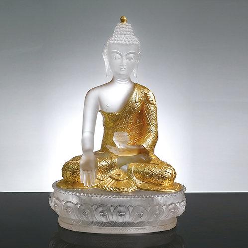 釋迦牟尼(貼金) 20cm/Shakyamuni