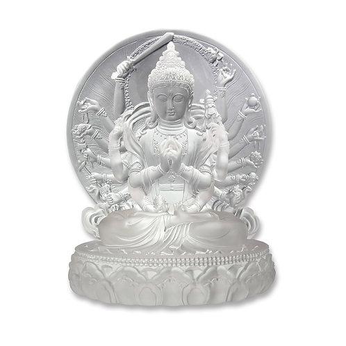 背光準提菩薩 26cm/Bodhisattva