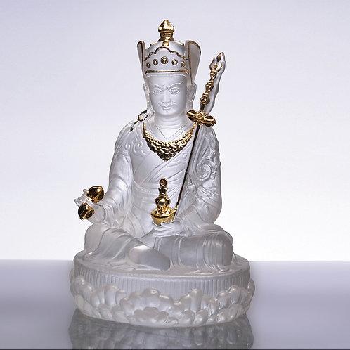 蓮花生大士貼金 / Guru Padmasambhava with gilded (s) 11 cm