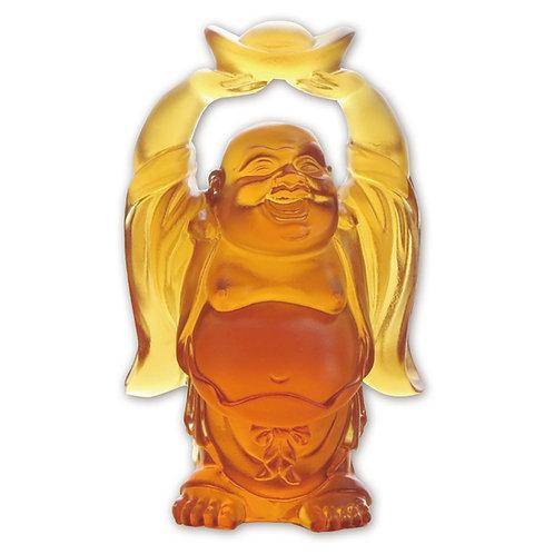 招財彌勒佛 (雙手舉元寶)/ Fortune Maitreya
