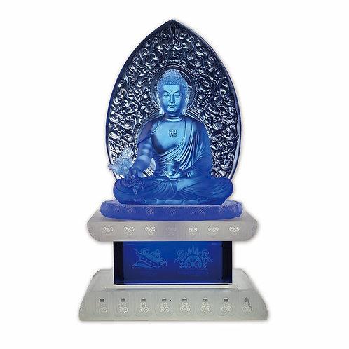 藥師佛(連座) 36cm Medincine buddha