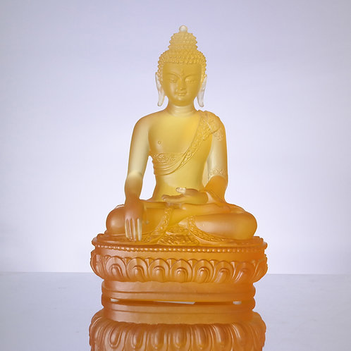 藥師七佛_南無釋迦牟尼佛20cm/ Medicine Buddhain seven colour