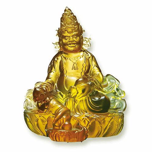 黃財神 11cm / Yellow Jambhala