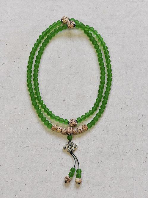108 琉璃綠念珠 6mm/ 108 prayer beads in green 6mm