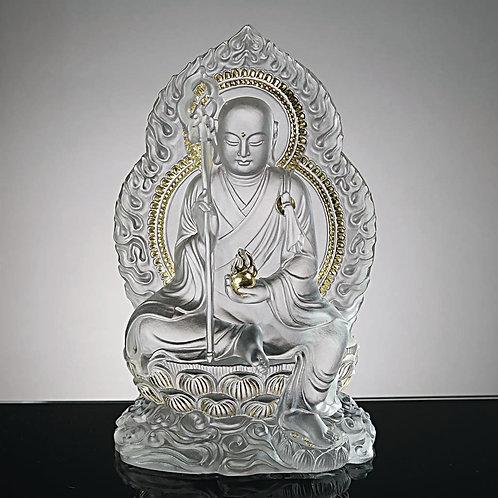 地藏菩薩(貼金) 18cm / Ksitigarbha in gilded