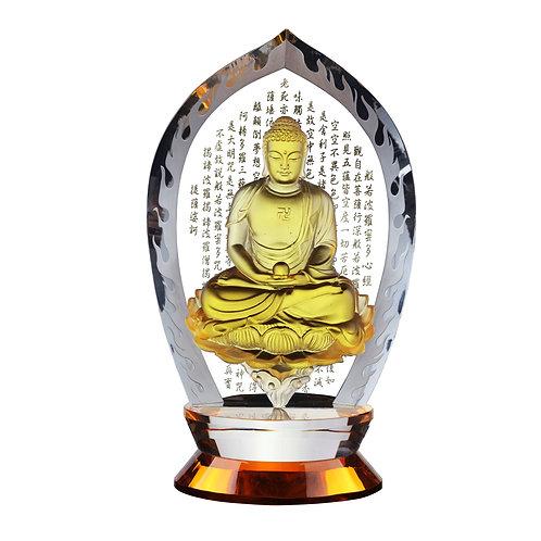 釋迦牟利(水晶背板)/Shakyamuni