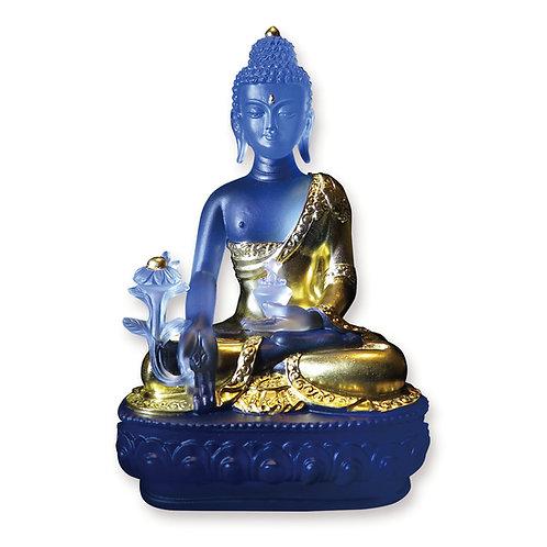 藥師佛 貼金20cm/ Medicine Buddha with gilded