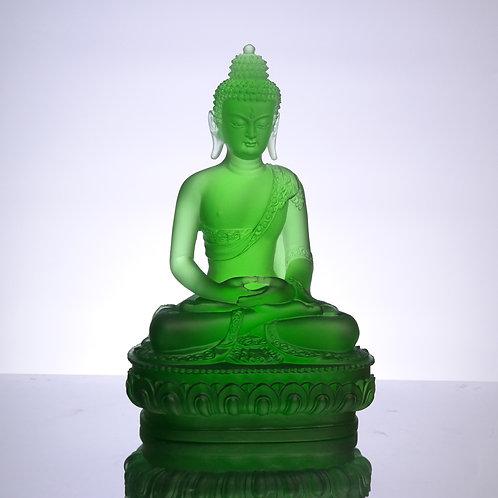 藥師七佛_南無無憂最勝吉祥如來/ Medicine Buddhain seven colour