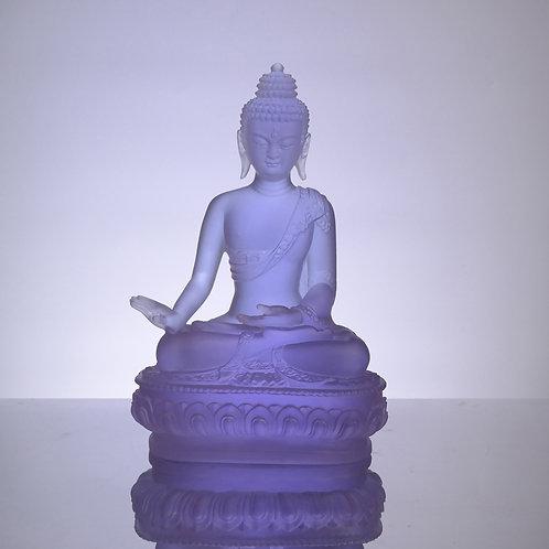 藥師七佛_南無法海勝慧遊戲神通如來 20cm/ Medicine Buddhain seven colour