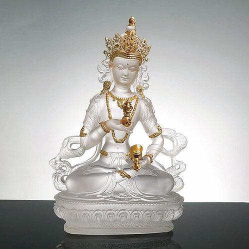 金剛薩埵 (貼金) 22.5cm/Vajrasattva with gilded