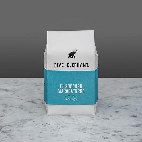 EL SOCORRO-MARACATURA Filter by Five Elephant 3 x 284g