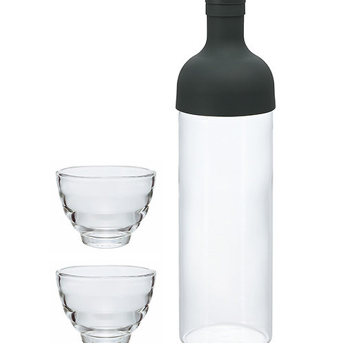 Filter in Bottle and Tea Glass Set