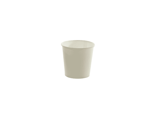 Sustain White Single Wall Bio Hot Cup – Plain – 4oz / 120ml - 1000/case