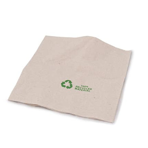 100% Recycled Napkin 2 Ply – Brown – 330 x 330mm
