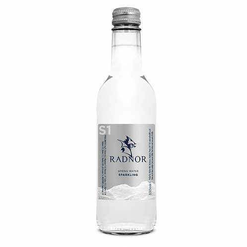 Radnor Hills Premium Water SPARKLING Glass 24 x 330ml